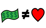 money can not buy love or happiness