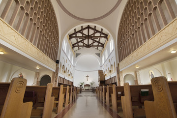 Historic Mt Angel Abbey Church Interior