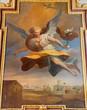 Vienna - Archangel Gabriel in baroque Jesuits church