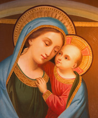 Vienna - Madonna from st. Peter church