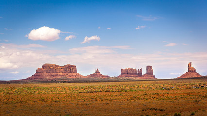 Northern View of Monument Valley