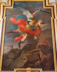 Vienna - Archangel Michael paint