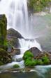 Belelle River Waterfall, Neda, Acoruña, Spain