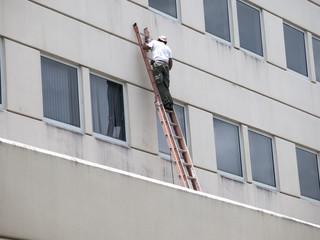 reparing a building