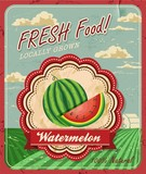 Retro Fresh Food Poster Design