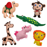 Felt toys safari animals