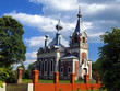 picturesque Orthodox Church of the Assumption of the Blessed Vir