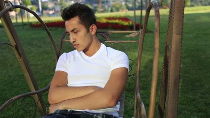 young sad boy 1