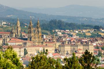 Catedral de Santiago de Compostela desde Pedroso
