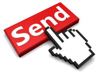 Send button and hand cursor
