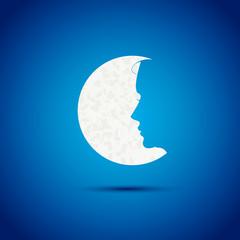 lune et profil