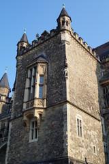 Aachener Rathaus - vom Katschhof aus gesehen