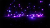 Fototapety purple Bouncing light balls wide