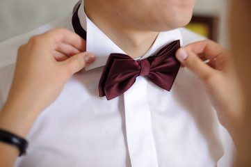Groom and Bow Tie