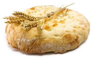 pita bread and spikelets