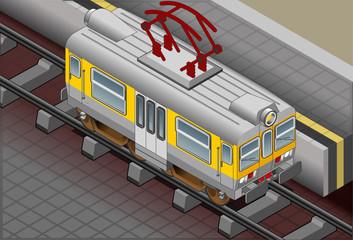 Isometric Electric Train