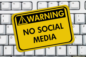 No accessing social media at work