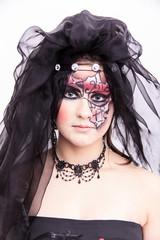 gothic-style Make-up