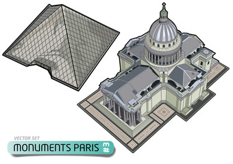 PARIS TOURISME - Monuments - Set 3