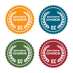 Editor's choice badges