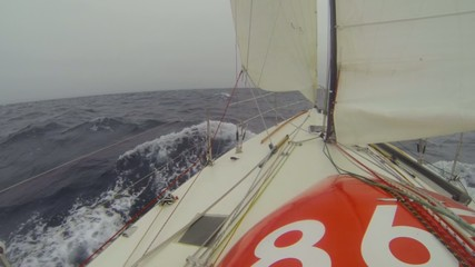Jib to windward