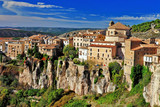 Cuenca.Spain. lost in cliffs