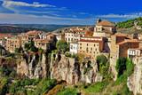 Fototapety Cuenca.Spain. lost in cliffs
