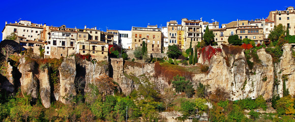Cuenca. town on clifs. Spain