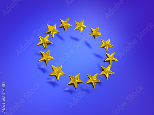 Stars of the European Union.