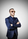 businessman with sunglass