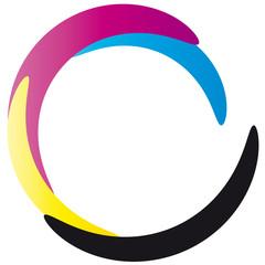 cmyk - Logo - vierfarbdruck - offsetdruck
