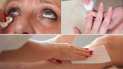 Esthetician - depilatory wax, make-up, manicure