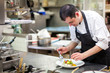 Leinwandbild Motiv Cuisinier
