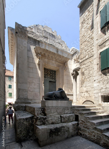Jupiter temple in Diocletian palace, Split, Croatia