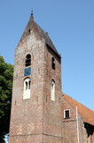 Tower of the Saint-Margaretha church in Norg.The Netherlands