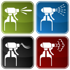 Spray Bottle Icons
