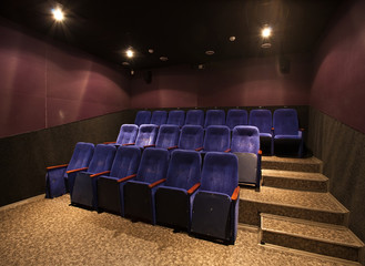 empty movie theater