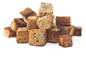 toasted bread croutons