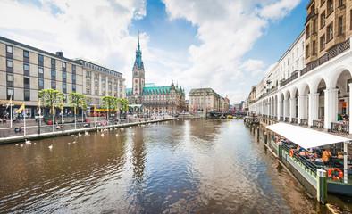 Beautiful view of Hamburg, Germany