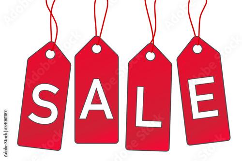 Sale Anhänger Schild  #130709-svg04
