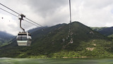 cable cars at lantau island hong kong