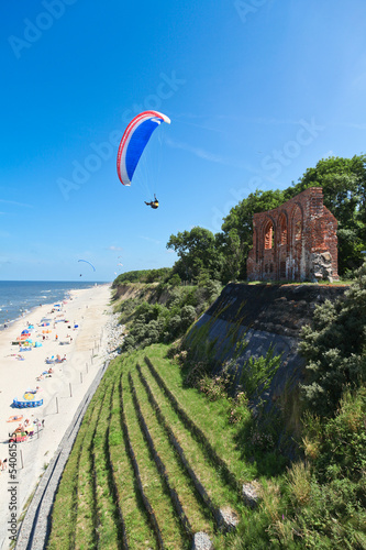 extrem air sports in summer