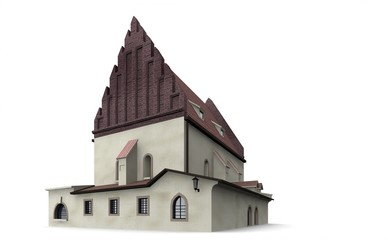 Altneu-Synagoge, Prag