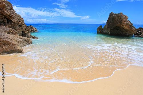 沖縄 コマカ島の美しいビーチ