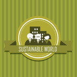 sustainable world poster