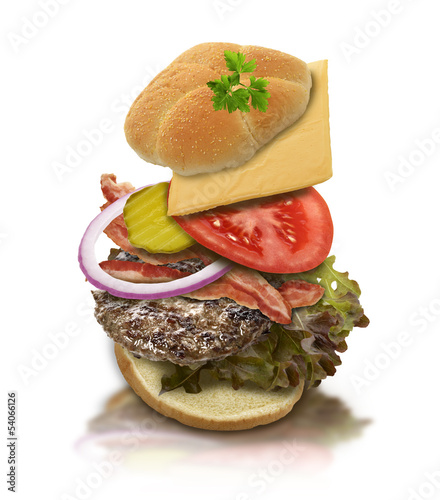 Ingredients Of Hamburger