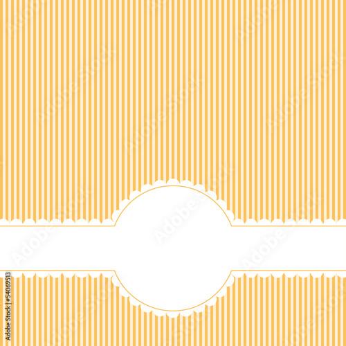 Banner mit Textfreiraum auf Linien Muster