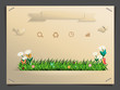 Nature banner idea concept vector