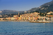 Provence village of Menton on the french Riviera