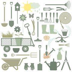 Gardening related icons 3